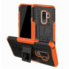 Hybrid case 2 pzas. outdoor Orange bolso funda para Samsung Galaxy s9 plus g965f