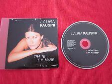 CD SINGLE LAURA PAUSINI TRA TE E IL MARE 2000