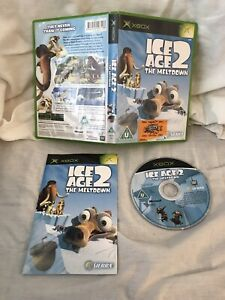 XBOX ORIGINAL - ICE AGE 2 THE MELTDOWN - COMPLETE WITH MANUAL - FREE P&P