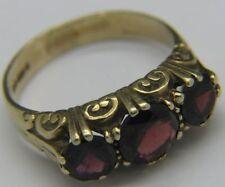 Engagement Lab-Created Round Three-Stone Fine Rings