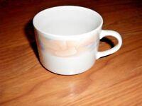 China Pearl cup Mug Lot of 2 Sara Sarah