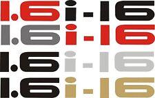 Honda  CRX 1.6i-16 Sticker/Decal