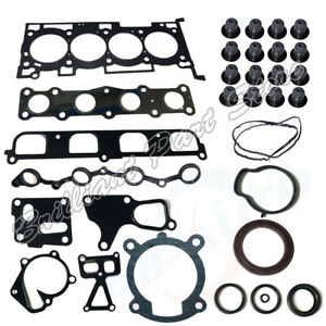 Full Set Gasket Engine Overhaul Kit Fit For Genesis Coupe Rohens 2.0T G4KF 09-11