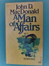 A Man of Affairs John D. MaDonald Vintage  Fawett Gold Medal PB