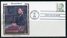UNITED STATES  COLORANO 1986 $1 BERNARD REVEL  FIRST DAY COVER