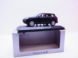 S223 Minichamps Porsche Cayenne S Azul Oscuro Coche a Escala 1:43 Nuevo En Ovp