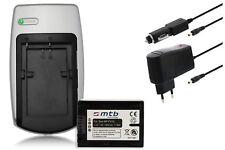 Baterìa + Cargador NP-FV70 NPFV70 para Sony HDR-CX190, CX200, CX210, CX220