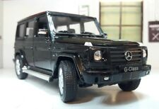 1:24 Scale Mercedes Black G-Class G Wagon 24012 Detailed Welly Diecast Model Car