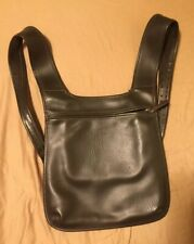 Brown Korean Leather Backpack Handbag Book Bag iPad Tablet Case
