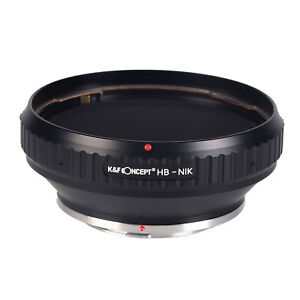 HB-AI Adapter Ring for Hasselblad V CF mount lens to Nikon F Mount Cameras