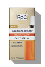 Roc Multi Correxion Revive + Glow Daily Serum 1 oz - New - Free Shipping
