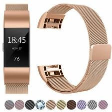Magnetic Wristband Strap for Fitbit Charge 2Milanese Bands,Replacement Bracelets