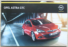 Rare Catalogue Opel Astra GTC - France - 05/2014 - MY15 - 52p