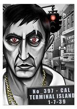 SCARFACE XXL Poster Tony Montana Mafia Pate Plakat DIN A0 DUB