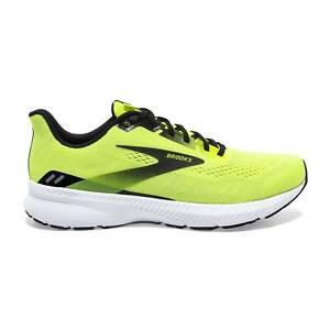 Brooks Launch 8 Men's Road Running Shoes, Nightlife/Black/White