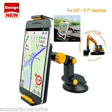 "360° Rotable Mount Holder Car Dashboards Windshield Phone Bracket For 4.5-9.7"""