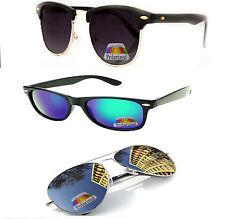 Occhiali da sole da donna Aviator a tecnologia lenti specchio con protezione 100% UV400
