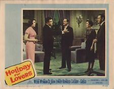 "CLIFTON WEBB - JANE WYMAN -  Vintage 11"" x 14"" Lobby Card HOLIDAY FOR LOVERS C69"