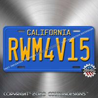 Bumblebee Transformers VW Beetle Aluminum Replica Prop License Plate Tag