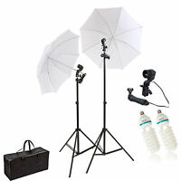 HWASTUDIO ® 135W Continuous Lamp Bulb Photography Photo Umbrella light Stand