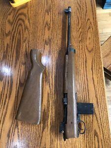 Orginal Crosman M1 Magazine With Broken Rifle Bb Gun Vintage.