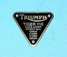 97-0623//4 H623 H624 pair of Nacelle chrom flashers pre unit Triumph zierleisten