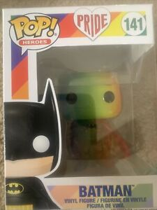 Batman - Batman Rainbow Pride 2020 Pop! Vinyl Figure #141