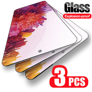 For Samsung Galaxy S20 FE ,  3 x Tempered Glass Screen Protector Case Friendly