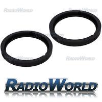 """Honda HR-V 98-2006 6.5"""" MDF Front / Rear Door Speaker Adaptors / Rings / Spacers"""