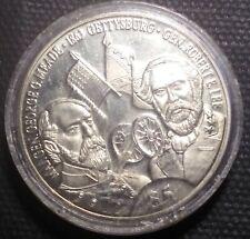 1999 LIBERIA-   BATTLE OF GETTYSBURG CUPRONICKEL 5 DOLLARS,