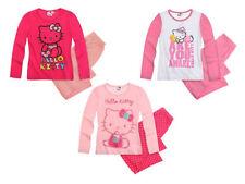 Ensemble pyjama à manches longues pour fille de 2 à 16 ans