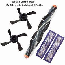 For Neato Botvac 70e 75 80 85 Vacuum Cleaner Combo Brush+Side Brush+HEPA Filter