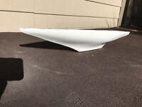 "fiberglass rc model sailboat hull 30"" X8"" pond yacht"