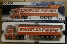 Corgi CC14034 Volvo FH Curtainside Trailer Knowles Transport Ltd Ed. 001 of 750