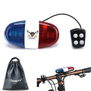 Police Siren Bike LED Light Electronic Bicycle Loud Sound Handlebar For Kid 2019