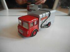 Matchbox King Size Refuse Truck in Red/Grey