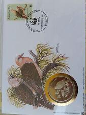 Numisbrief 30 Jahre WWF 1992 Mauritius   Mauritius-Taube