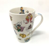 NEW PAUL CARDEW  Latte Coffee Tea Cup Mug ALICE in WONDERLAND Design England