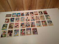 Lot of 33 1978 O-Pee-Chee baseball trading cards