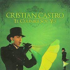 Cristian Castro El Culpable soy yo CD New Nuevo Sealed
