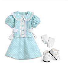 American Girl MOLLY DRESS POLKA DOT NIB doll not included