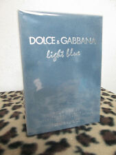 LIGHT BLUE BY DOLCE & GABBANA MEN FRAGRANCE 4.2 OZ EDT NEW IN BOX