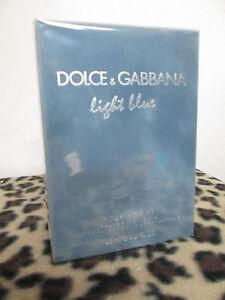LIGHT BLUE BY DOLCE & GABBANA MEN FRAGRANCE 4.2 OZ EDT NEW IN BOX