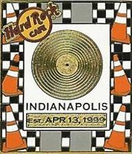 Hard Rock Cafe Indianapolis 2005 Gold Record Series Pin - Hrc Catalog #29394