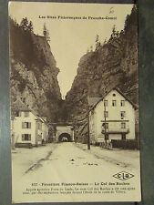 cpa 25 frontiere franco suisse col des roches