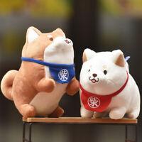 EB_ Shiba Inu Corgi Dog Animal Soft Stuffed Plush Doll Cushion Kids Toy Gift Che