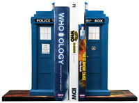 "*NEW IN BOX* Dr Who - Tardis 10.5"" Resin Bookend Set"