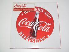 Dessous de Plat en Verre Coca Cola Red Ø 20 cm Salvamanteles NEUF