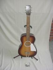 Vintage Harmony U.S.A. Acoustic Guitar Cowboy / Jay G Parlor Size / All Original