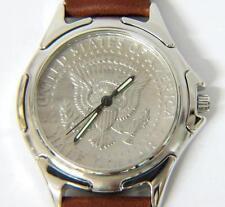 New Mens Half Dollar Coin Watch